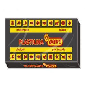 PLASTILINA JOVI 350G NEGRA