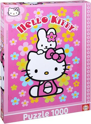 PUZZLE 1000 HELLO KITTY EDUCA