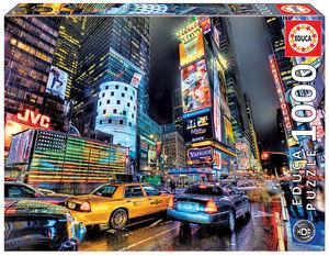 PUZZLE 1000 PIEZAS TIMES SQUARE, NUEVA YORK, HDR