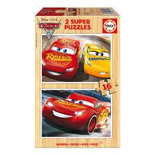 PUZZLE 2X16 PIEZAS CARS 3 EDUCA