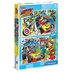 PUZZLE 2X20 MICKEY AND THE ROADSTER RACERS EDUCA