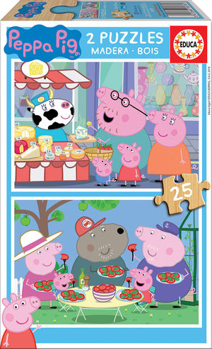 PUZZLE 25 PIEZAS PEPA PIG EDUCA