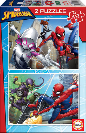 PUZZLE 48 SPIDERMAN EDUCA