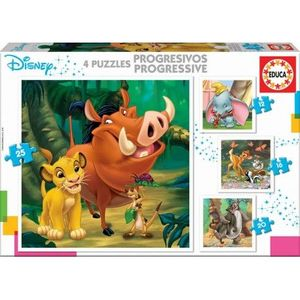 PUZZLE ANIMALES DISNEY PROGRESIVO EDUCA