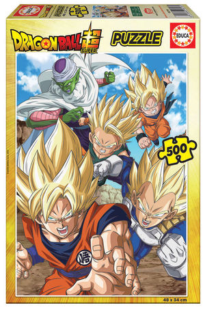 PUZZLE 500 PIEZAS DRAGON BALL EDUCA