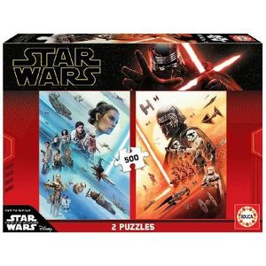 PUZZLE 2X500 PIEZAS STAR WARS EPISODIO IX EDUCA