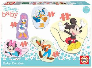PUZZLE PROGRESIVO BABY PUZZLES MICKEY & FRIENDS EDUCA