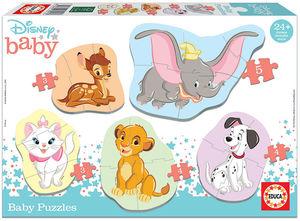 BABY PUZZLES DISNEY ANIMALS 2 EDUCA