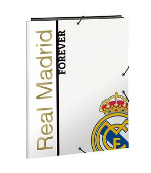 CARPETA FOLIO 3 SOLAPAS REAL MADRID SAFTA