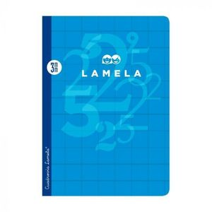 CUADERNO CUADROVIA LAMELA FOLIO 3MM 50H