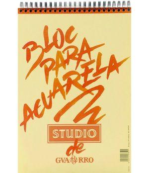 BLOC ACUARELA GUARRO A3 STUDIO 224GR