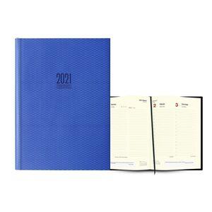 AGENDA 2021 ATENAS DIA PAGINA 17X24 AZUL INGRAF