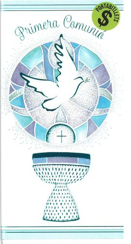 TARJETA FELICITACION PRIMERA COMUNIO (CATALA) BUSQUETS