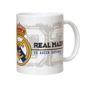 TAZA 330 ML REAL MADRID CF