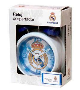 RELOJ DESPERTADOR CAMPANAS REAL MADRID
