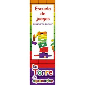 JUEGO LA TORRE  DE COLORES XL AQUAMARINE