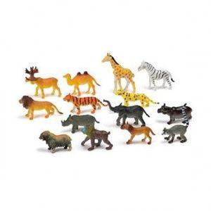 SET DE 14 ANIMALES SALVAJES