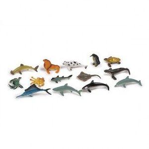 SET DE 14 ANIMALES DEL OCEANO EUREKAKIDS