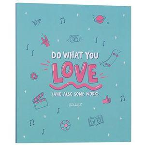 ARCHIVADOR FOLIO 4 ANILLAS DO WHAT YOU LOVE MR. WONDERFUL