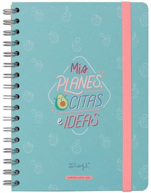 AGENDA ESCOLRA 2020-2021 SEMANA VISTA MIS PLANES, CITAS E IDEAS MR WONDERFUL