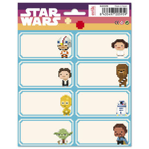 ETIQUETAS ESCOLARES STAR WARS