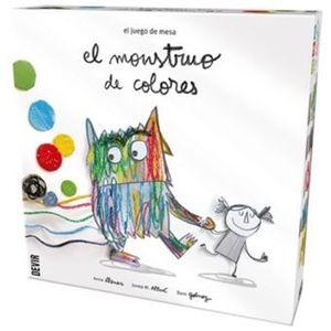 EL JUEGO DE MESA EL MONSTRUO DE CCOLORES
