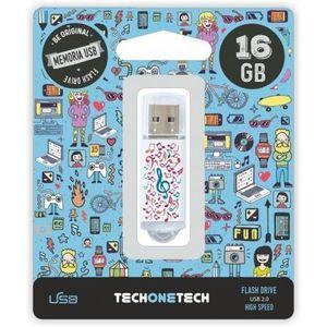 PENDRIVE TECH ONE TECH MUSIC DREAM 16GB USB 2.0