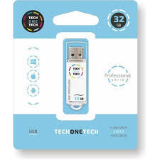 PENDRIVE 32GB USB 2.0 SMART TECH BLANCO