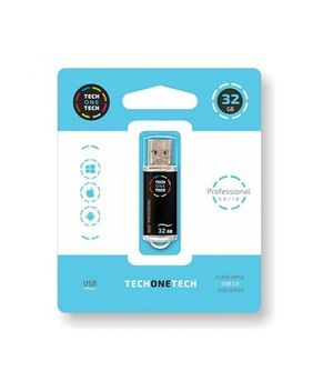 PENDRIVE 32GB USB 2.0 SMART TECH NEGRO