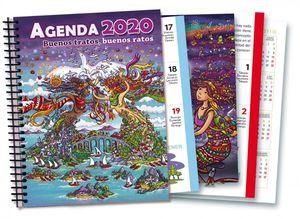 AGENDA SOLIDARIA PARA ADULTOS 2020 BUENOS TRATOS BUENOS RATOS