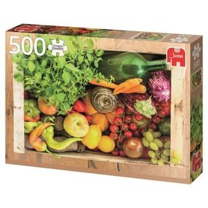 PUZZLE 500 PIEZAS PREMIUM COLLECTION FRUIT AND VEGETABLE BOX JUMBO