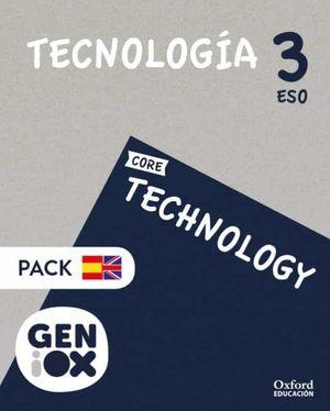 3ESO. TECHNOLOGY STUDENS BOOK BILINGUE GENIOX ANDALUCIA OXFORD
