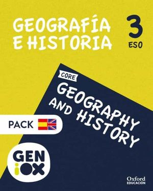3ESO. GEOGRAPHY & HISTORY GENIOX STUDENTS BOOK BILINGUE ANDALUCIA OXFORD