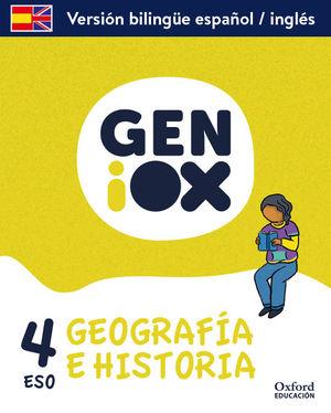 4ESO. GEOGRAFIA E HISTORIA GENIOX BILINGUE ANDALUCIA OXFORD