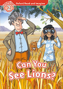 CAN YOU SEE LIONS MP3 PK LEVEL 2 OXFORD