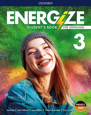 3ESO. ENERGIZE 3 STUDENT BOOK ANDALUCIA OXFORD