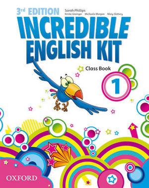 INCREDIBLE ENGLISH KIT 3RD EDITION 1. CLASS BOOK