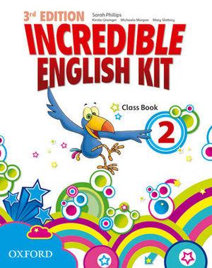 INCREDIBLE ENGLISH KIT 3RD EDITION 2. CLASS BOOK