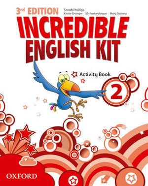 INCREDIBLE ENGLISH KIT 3RD EDITION 2. ACTIVITY BOOK