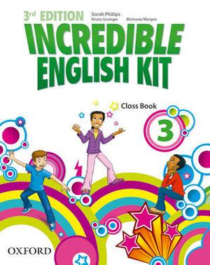 INCREDIBLE ENGLISH KIT 3RD EDITION 3. CLASS BOOK