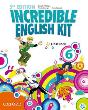 INCREDIBLE ENGLISH KIT 3RD EDITION 6. CLASS BOOK