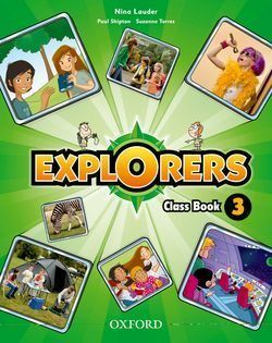 3EP. EXPLORERS LIBRO OXFORD