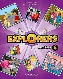 4EP. EXPLORERS LIBRO OXFORD