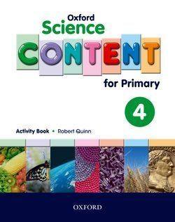 4EP. SCIENCE CONTENT 4 ACTIVITY BOOK OXFORD