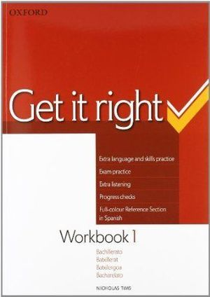 1BCH. GET IT RIGHT WORKBOOK OXFORD