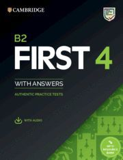 B2 FIRST 4 STUDENT S BOOK WITH ANSWERS WITH AUDIO WITH RESOURCE BANK