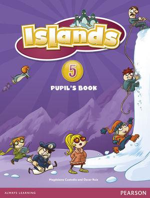 ISLANDS SPAIN PUPILS BOOK 5 + ISLAND HOPPING PACK