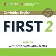 CAMBRIDGE ENGLISH FIRST 2 AUDIO CDS (2)