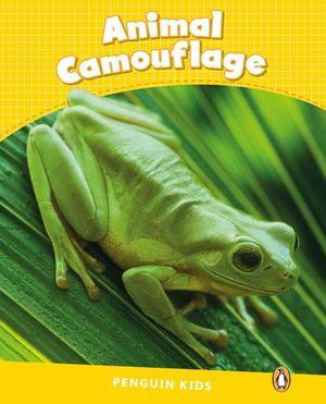 PENGUIN KIDS 6 ANIMAL CAMOUFLAGE READER CLIL