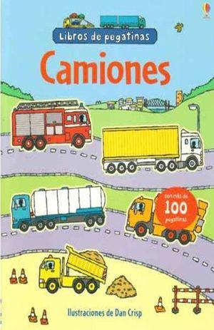 LIBRO DE PEGATINAS. CAMIONES